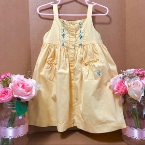 ⬇️$44 Janie and Jack 18M Hand Embroidered Dress
